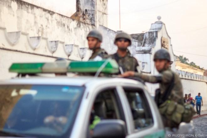 Rudy Giron: Antigua Guatemala &emdash; The Militarization of Antigua Guatemala