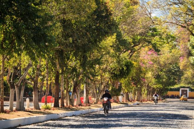 Rudy Giron: Antigua Guatemala &emdash; Alameda El Calvario in Antigua Guatemala
