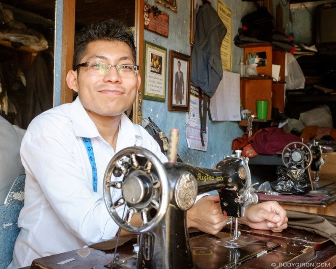 Rudy Giron: Antigua Guatemala &emdash; The Tailor of SPLH