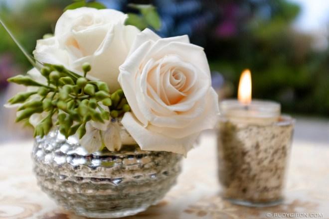 Rudy Giron: Antigua Guatemala &emdash; Roses and candle table decoration