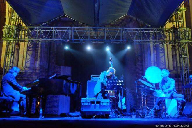Rudy Giron: Antigua Guatemala &emdash; Thierry Lang Trio at Guatemala's Jazz Festival 2