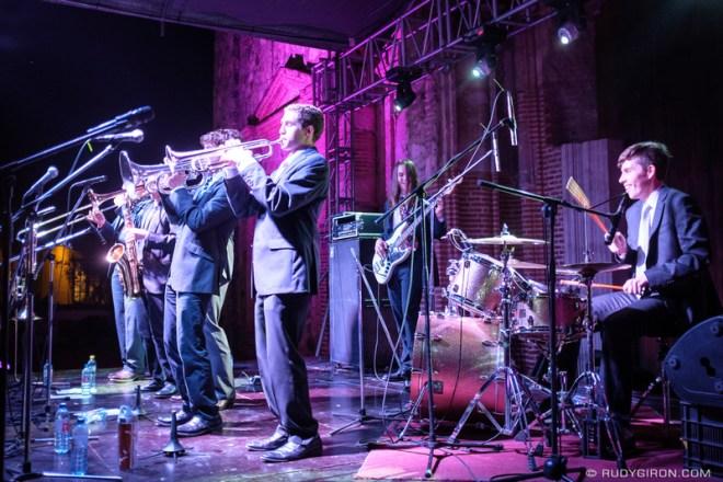 Rudy Giron: Antigua Guatemala &emdash; Big Wy's Brass Band at Guatemala's Jazz Festival in Antigua Guatemala_
