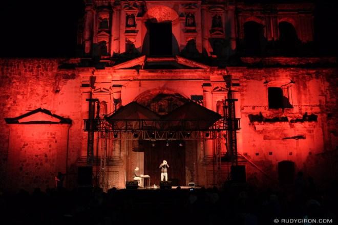 Rudy Giron: Antigua Guatemala &emdash; Duo Soupstar at Guatemala's Jazz Festival in Antigua Guatemala 2