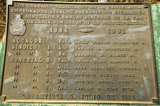 Rudy Giron: Antigua Guatemala &emdash; Trivia about Cerro de la Cruz