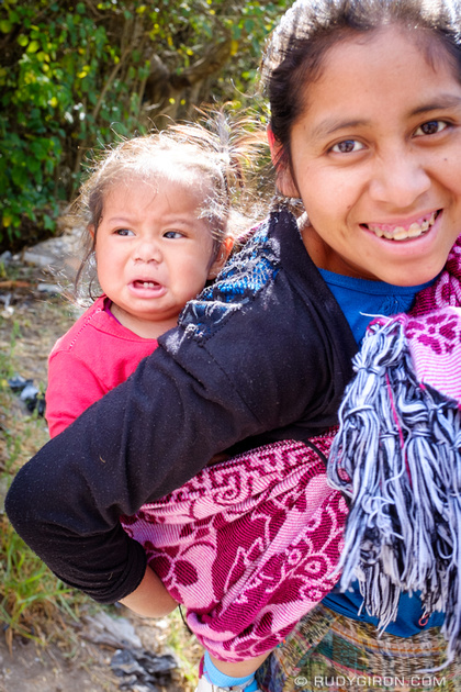 Rudy Giron: Antigua Guatemala &emdash; Maya Mother and Daughter