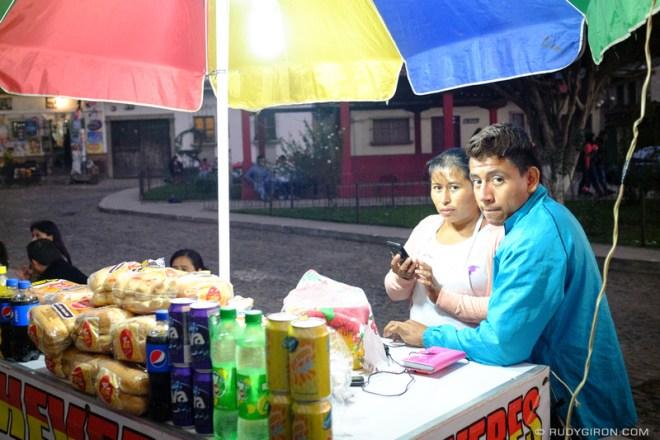 Rudy Giron: Antigua Guatemala &emdash; Cheveres or Shucos Hot Dogs
