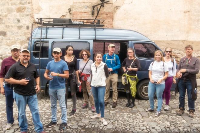 Rudy Giron: Antigua Photo Walks &emdash; APW — Califonia group from Xela Aid