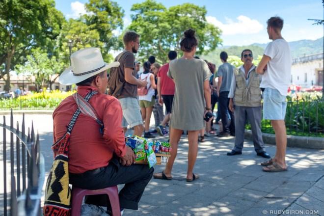 Rudy Giron: Antigua Guatemala &emdash; Ambulant vendor in Antigua Guatemala