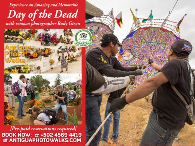 Experience an Amazing and Memorable Day of the Dead with renown photographer Rudy Giron