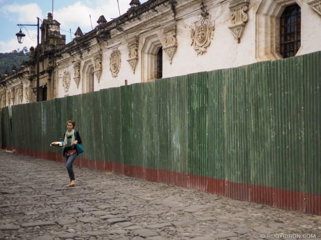 Rudy Giron: Antigua Guatemala &emdash; Repairs to the Former USAC building in Antigua Guatemala