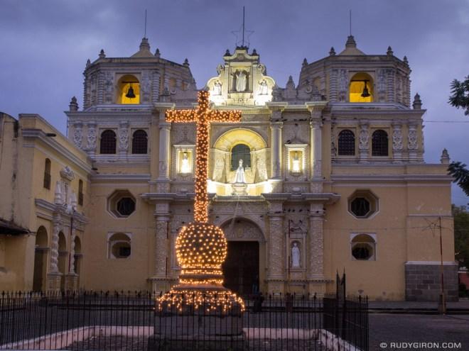 Rudy Giron: Antigua Guatemala &emdash; Iglesia La Merced at Dawn