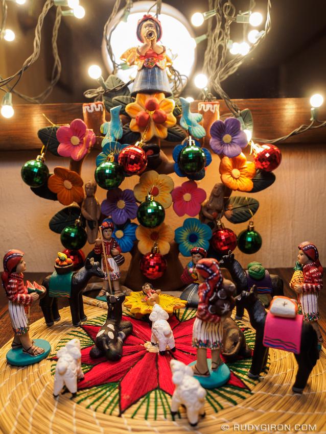 Rudy Giron: Antigua Guatemala &emdash; Mayan Nativity Scene from Guatemala