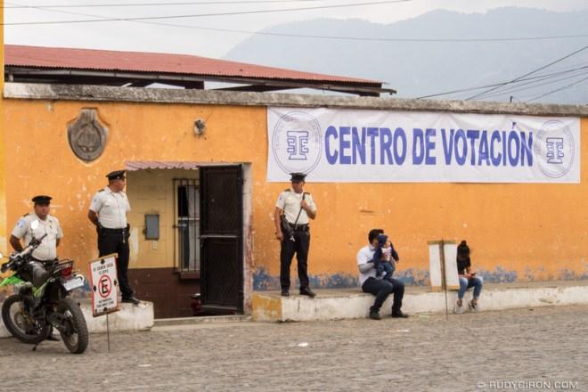 Rudy Giron: Antigua Guatemala &emdash; Centro de Votación Antigua Guatemala