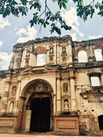 Ruins of Antiguo Colegio de la Compañía de Jesús by Rudy Giron