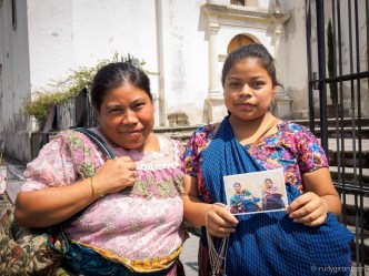 Street Portraits of Mayan Families in Antigua Guatemala by Rudy Giron