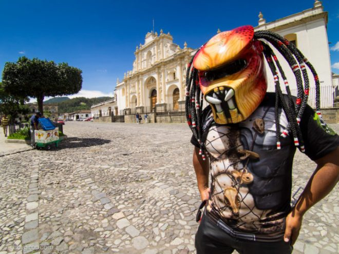 Predator Sightings in Antigua Guatemala by Rudy Giron