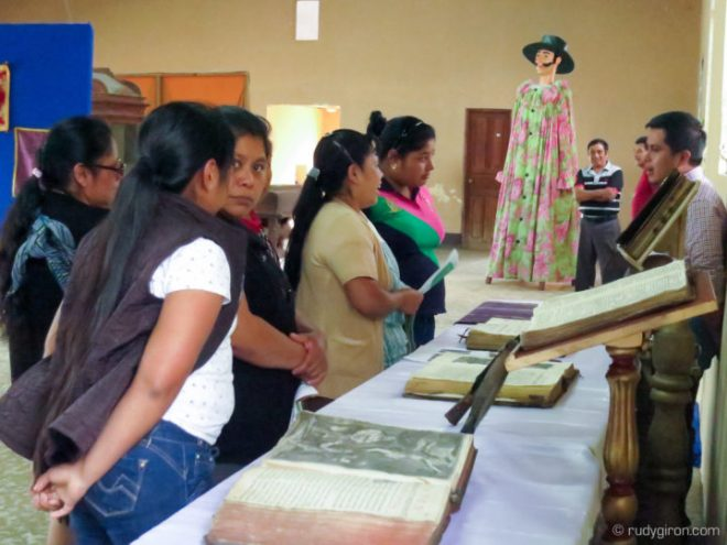 First Historic Exhibition of Religious Artifacts in San Pedro Las Huertas