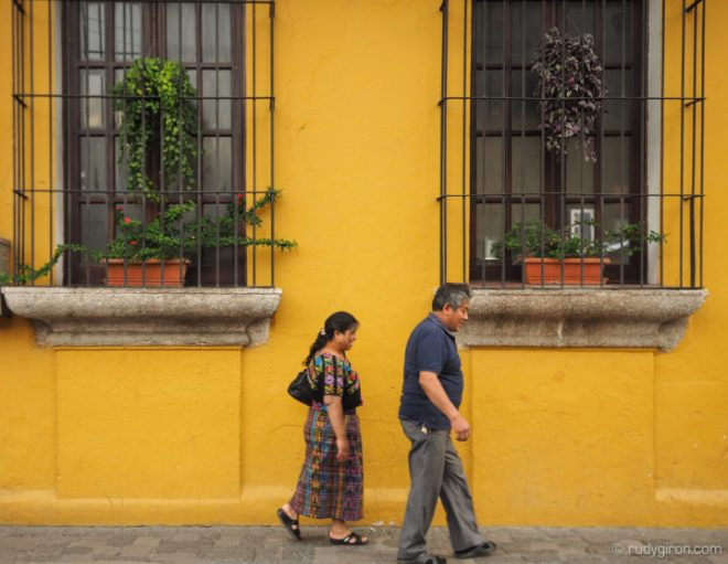 Easy does it in Antigua Guatemala by Rudy Giron
