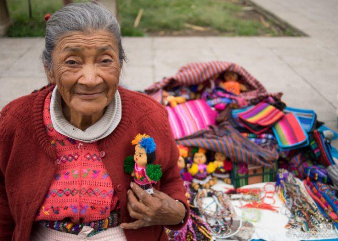 Street Portraits of Strangers — Antigua Handicraft Vendor Grandma by Rudy Giron