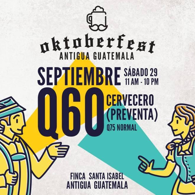 Oktoberfest 2018 in Antigua Guatemala