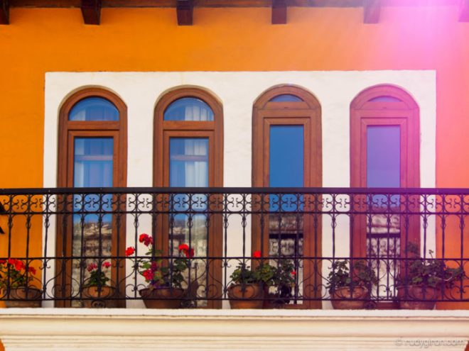 Balcony on Calle del Arco by Rudy Giron