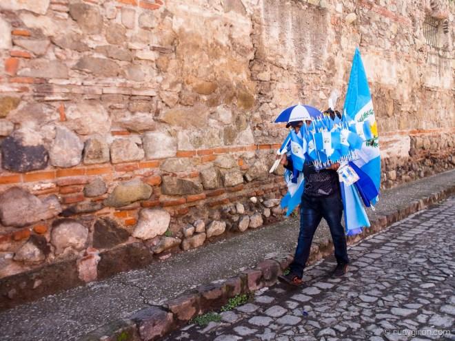 It's Guatemalan Flag Season by Rudy Giron