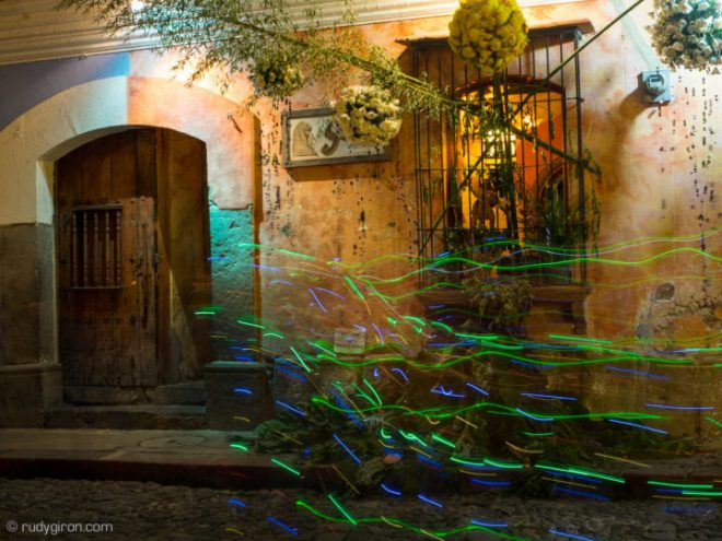 Antigua Guatemala's Flower Festival at Night BY RUDY GIRON