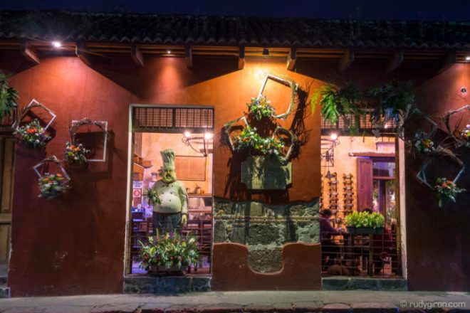 Antigua Guatemala's Façade Adorned with Flowers BY RUDY GIRON