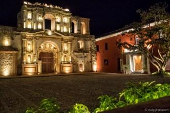 New Spotlights at Compañía de Jesús Ruins BY RUDY GIRON
