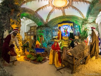 Nativity Scene at Igledia La Merced in Antigua Guatemala BY RUDY GIRON