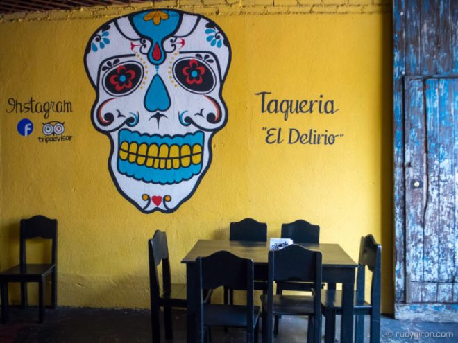 Taqueria El Delirio in Antigua Guatemala BY RUDY GIRON