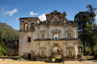 Ruins of Los Remedios in Antigua Guatemala BY RUDY GIRON