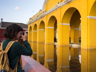 Learn how to capture photographically the beauty of Antigua Guatemala with photographer Rudy Giron of Antigua Photo Walks
