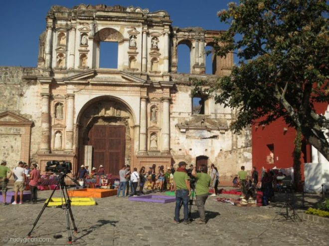 "BTS of Filming of ""Pékin Express"" in Antigua Guatemala BY RUDY GIRON"