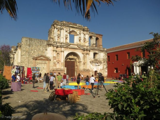 """BTS of Filming of """"Pékin Express"""" in Antigua Guatemala BY RUDY GIRON"""