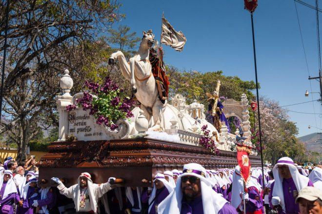Iglesia La Merced's Palm Sunday Procession BY RUDY GIRON