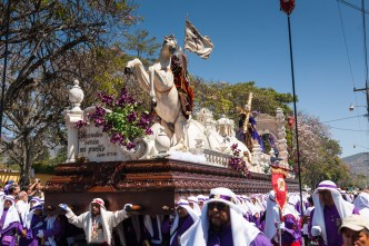 Iglesia La Merced's Palm Sunday Procession BY RUDY GIRON