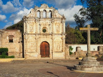 Ruins of Santa Isabel, Antigua Guatemala BY RUDY GIRON