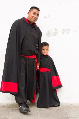 The Last Semana Santa Vistas — Cucurucho Father and Son BY RUDY GIRON
