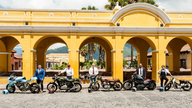 Vintage Motorcycles Photographed in Antigua Guatemala BY RUDY GIRON