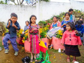 Day of the Dead vistas from Guatemala — Mayan kids, kites and flowers BY RUDY GIRON