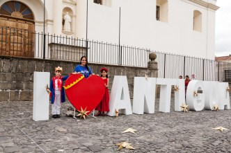 I Love Antigua sign BY RUDY GIRON