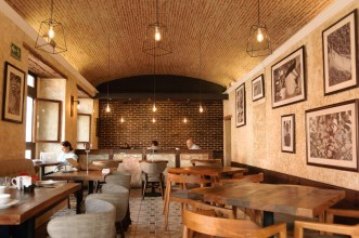 New Look for an Old Coffee Shop by Rudy Giron