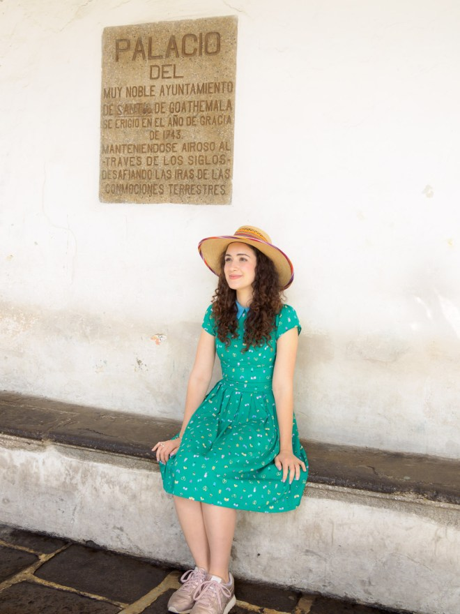 Portrait of Allison Strong in Antigua Guatemala BY RUDY GIRON
