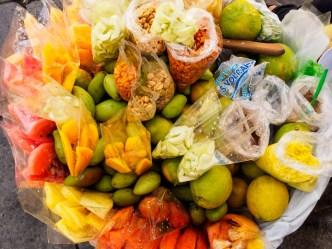 Fresh fruit ambulant vendors BY RUDY GIRON