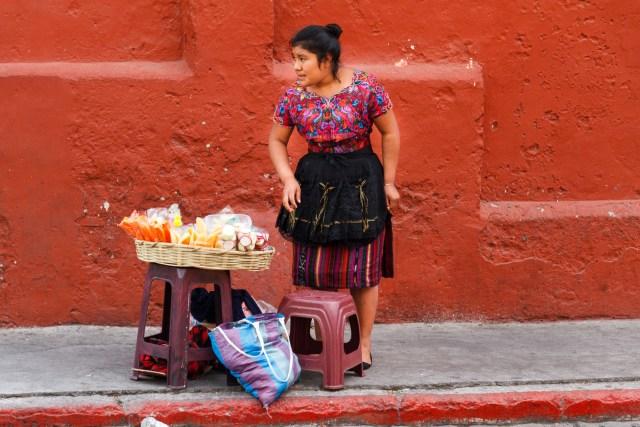 Quotidian Vistas from Antigua Guatemala — Fresh Fruits Vendors BY RUDY GIRON