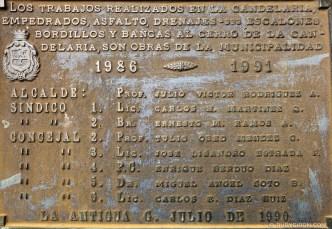 333 Steps to Cerro de la Cruz Sign