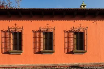 PHOTO STOCK: Metal Window Crates from Antigua Guatemala