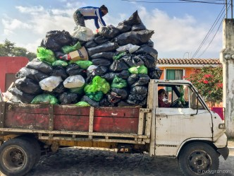 PHOTO STOCK: Pandemic Sights - Garbage Collection