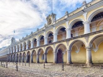 PHOTO STOCK: Centro Cultural Real Palacio in Antigua Guatemala